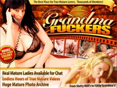 Grandma Fuckers- the best place for true mature lovers!