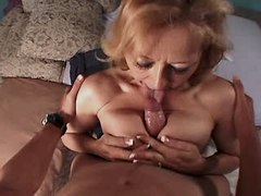 Old mature has oral n gets titsfuck