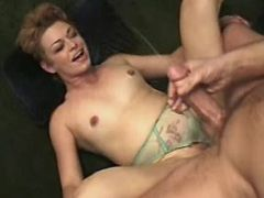 Lustful mature gets cum by captain