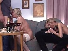Granny and milf suck dicks and fuck