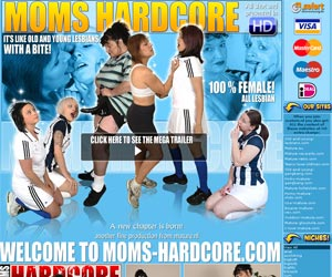 Moms Hardcore - It's like old and young lesbians with a bite